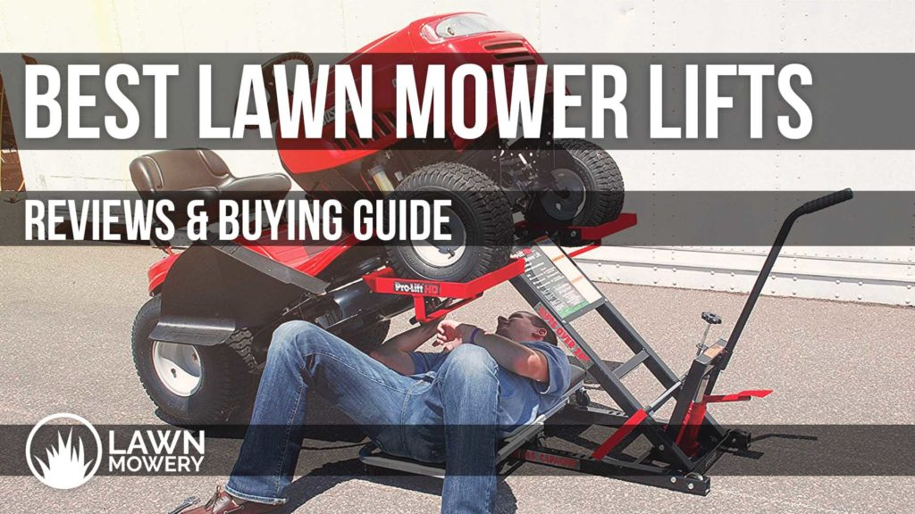 best lawn mower lift