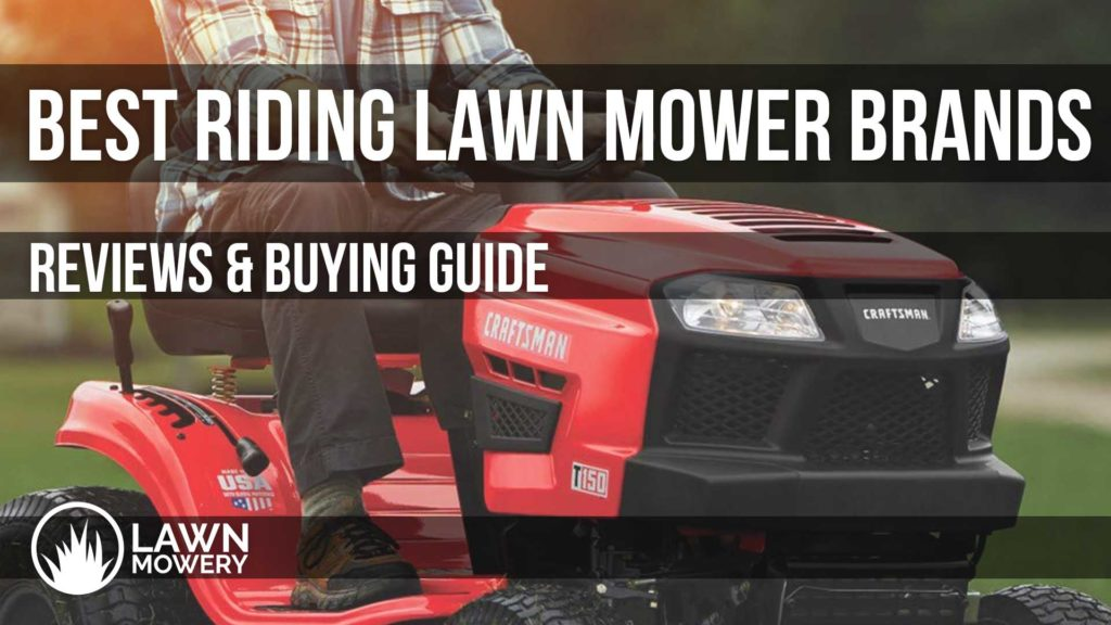 best riding lawn mower brands
